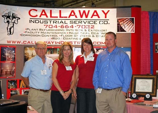 Callaway Industrial Services of Mooresville, NC represented at a recent industry trade show.