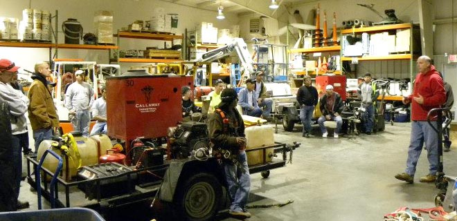 Fall Safety Training at Callaway Industrial Services, Inc.
